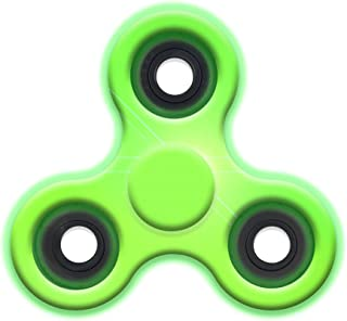 TOP TRENZ High Speed & Longest Spin Time Spinner Squad Fidget Spinners (Glow in The Dark)