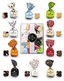 200g Box mit Antica Torroneria Tartufo Schokoladentrüffel Tartufi Trüffelpralinen in verschiedenen Verpackungsvarianten: Geschnkbox, Geschenkkorb, Präsentkorb oder mini Präsent (D)