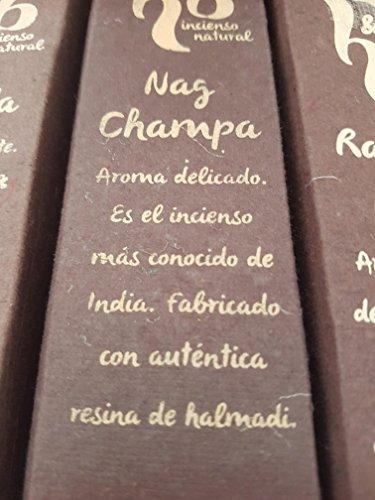 Qaromas Incienso Natural H&B Nag Champa 15g
