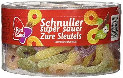 Red Band Schnuller Sauer 1,2 kg Dose | Fruchtgummi