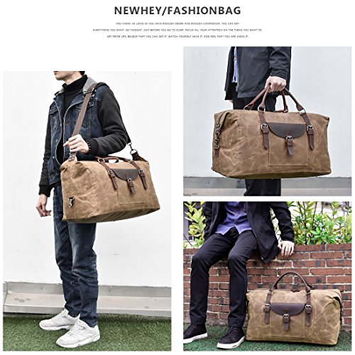NEWHEY Reisetasche Leder - 7