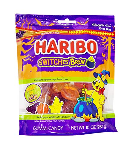 Haribo New Halloween Limited Edition S'witches' Brew Sharing Size 10oz Bag