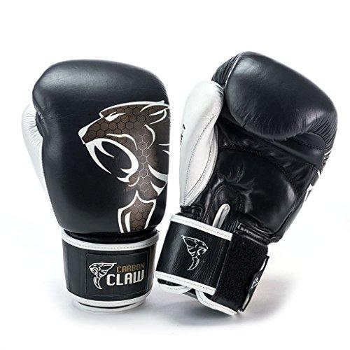 Carbon Claw Razor RX Pro Thai Sparring Handschuh schwarz/weiß