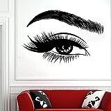DOUMAISHOP Pegatinas para Pestañas, Calcomanía para Ojos, Salón De Belleza para Mujer, Pestañas, Pestañas, Cejas,...
