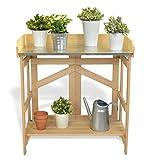 VYTAL Folding Potting Bench / Event Table (Natural)