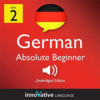 Learn German - Level 2: Absolute Beginner German, Volume 2: Lessons 1-25 cover art