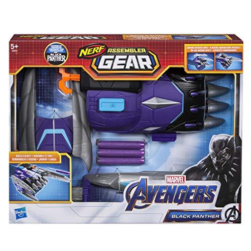 Avengers - Nerf Assembler Gear Black Panther (Hasbro E3311EU4)