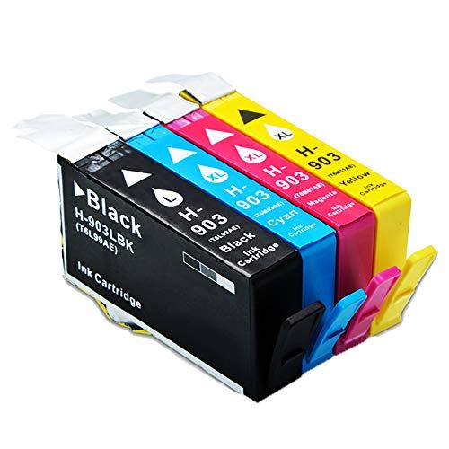 caidi 4x repuesto para HP 903903X l cartuchos de tinta de gran capacidad compatible con HP Officejet Pro 695069606970