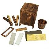 DerShogun Schleifset für Schwert oder Messer