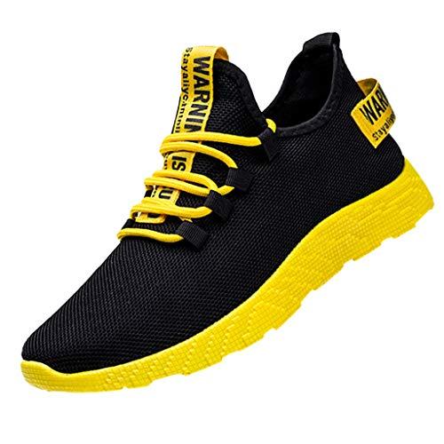Aoogo Herrenmode Die Neuen Männer, die le Running Shoes Tourist Shoes Leisure Sports Shoes weben Freizeitschuhe Stiefel Stiefeletten Wanderstiefel Combat Hallenschuhe Shoes Laufschuhe