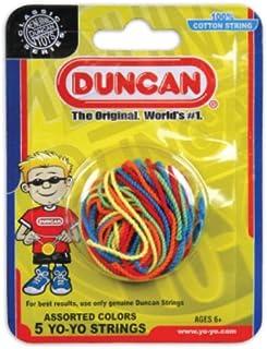 Duncan Toys Yo-Yo String [Assorted Colors] – Pack of 5 Cotton String for Plastic, Metal Yo-Yos