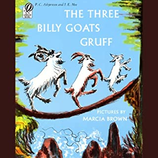 The Three Billy Goats Gruff, Tikki Tikki Tembo, & Strega Nona audiobook cover art