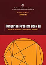 Hungarian Problem Book III (Anneli Lax New Mathematical Library)