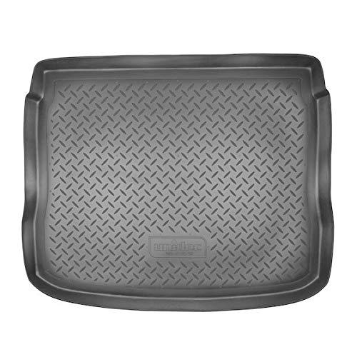 Sotra Auto Kofferraumschutz für den Volkswagen Tiguan - Maßgeschneiderte antirutsch Kofferraumwanne für den sicheren Transport von Einkauf, Gepäck und Haustier