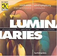 Luminaries by SHOSTAKOVICH / WHITACRE / ITO / H (1996-11-19)