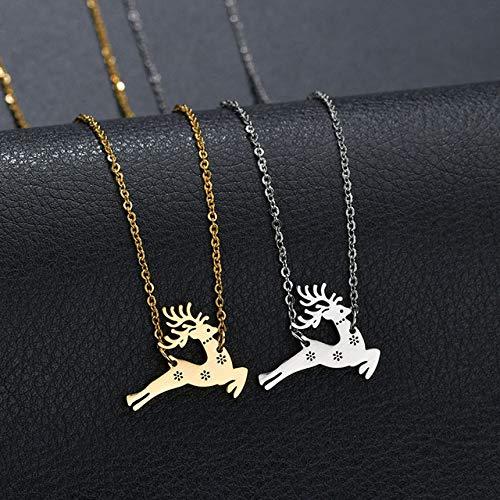 MYLDML Halskette Charm Vintage Lady geheime Botschaft Ball Medaillon Silber Gold Anhänger Halskette Schmuck Machen eine Liebe Geständnis Pullover Halskette Geschenk, Gold