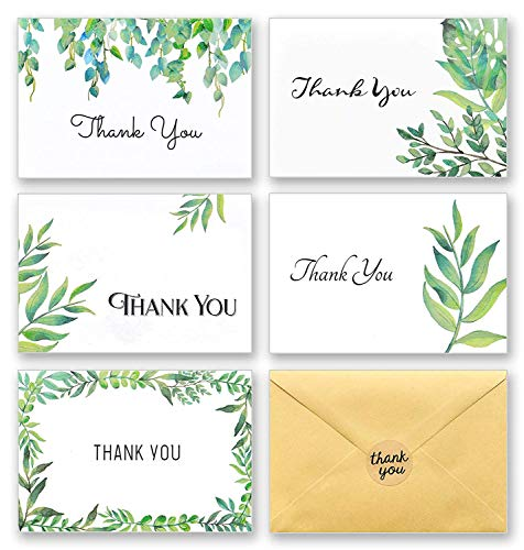 Top 10 thank you cards with envelopes 100 for 2020