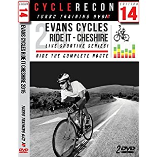 CR14 Evans Cycles RIDE IT Cheshire Sportive - Turbo Training DVD - Full Route:Maxmartyn