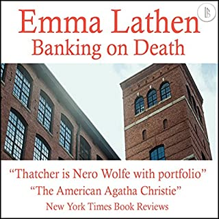 Banking on Death audiobook cover art
