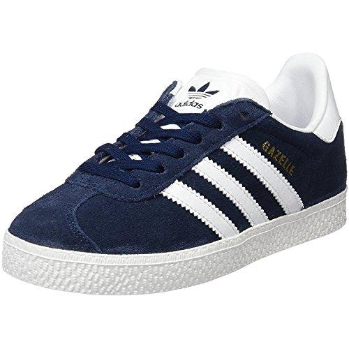 adidas Gazelle C, Zapatillas Unisex Niños, Azul (Collegiate Navy/Footwear White/Footwear White 0), 33 EU