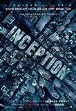 Inception - Leonardo Dicaprio – Wall Poster Print – A3