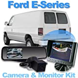 Complete背面カメラシステムwith 4.3インチミラーモニターforフォードEシリーズ