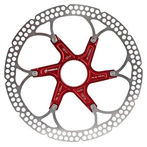 Formula Bremsscheibe Centerlock, zweiteilig, rot, 180mm, FD54027-00