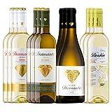 Pack Vinos Blancos Afrutados D.O.Ca Rioja (12 Botellas) - 3 Diamante semidulce + 3 Diamante Verdejo + 3 Talla de Diamante + 3 Bordón blanco