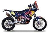 KTM 450 Rally Dakar #1 'Red Bull' Motorcycle 1/18 by Bburago 51071