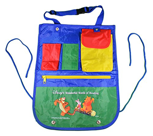 Disney Winnie the Pooh Childrens Backseat Car Organizer Art Supply Bag