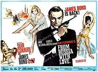 Posters USA - 007 From Russia with Love James Bond Movie Poster GLOSSY FINISH) - MOV186 (24