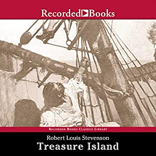 Treasure Island audiobook cover art