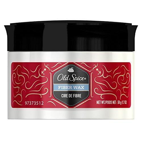 Old Spice Fiber Wax 1.7 Fl Oz - Styling Wax Putty for Men