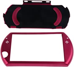 Aluminum Metal Hard Case Cover Shell Guard Protect for Sony PSP GO Slim Console Red