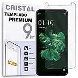 REY Protector de Pantalla para OPPO F5, Cristal Vidrio Templado Premium