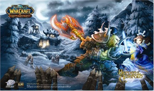 World of Warcraft Trading Card Game - Heroes of Azeroth Playmat by Upper Deck