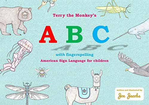 Terry the Monkey's ABC with fingerspelling: American