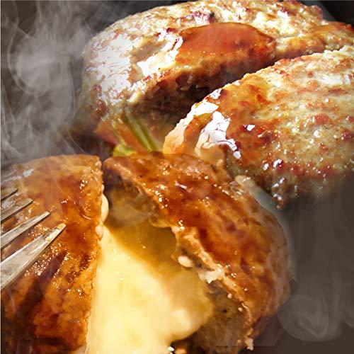 ハンバーグ 福袋 2種セット プレーン&チーズイン 2.2kg(22個入り)(プレーン100g×12個、チーズイン100g×10個)《*冷凍便》【まとめ買い割引・プライム】 まとめ買い対象商品 人気