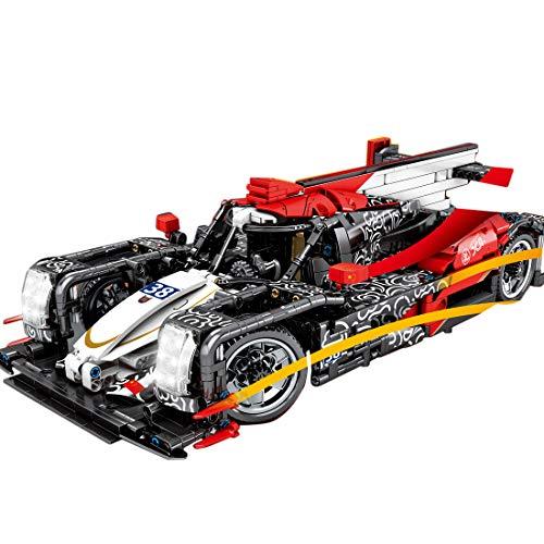 HYZM Cochecito de técnica deportivo, modelo de bloques de construcción, 1536 piezas, 1/14, juego de construcción, compatible con Lego Technic