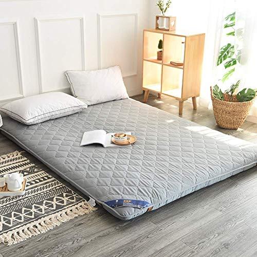 YDYL-LI Fußmatratze Futon, japanische Bodenpolster, dicke Tatami-Schlafmatte, faltbar, aufrollbare Matratze, atmungsaktiv, nachhaltig, Matratzenauflage, D 150 x 200 cm, B, 150x200cm(59x79inch)