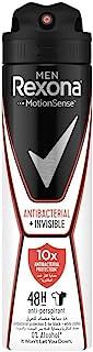 Rexona Men Antiperspirant Deodorant Antibacterial + Invisible, 150ml