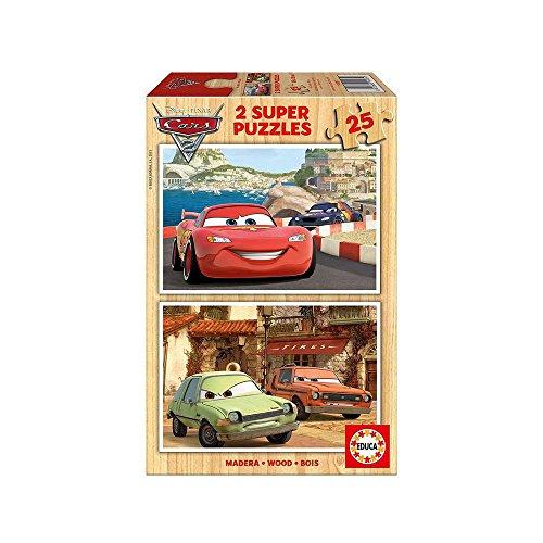 Cars 2   Puzzles 2 Unidades, 25 Piezas (14935)