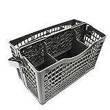kangOnline - Scolapiatti Universale per Posate, cestello portaposate per lavastoviglie, Porta Posate con Calamite pulite e sporche