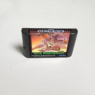 Lksya Rick Dangerous - Carte de jeu MD 16 bits pour cartouche de console de jeu vidéo Sega Megadrive Genesis (coque japona...