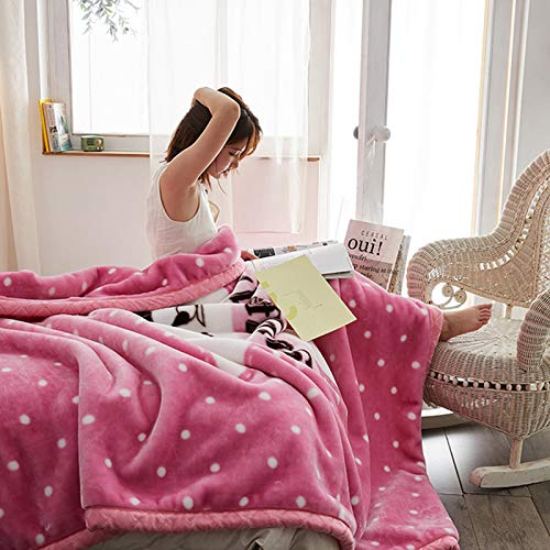 BSWL Double Thick Blankets in Autumn And Winter, Heat Up Quickly, Nap Blankets, Air-Conditioning Blankets, Sofa Blankets (180 * 200 Cm),11