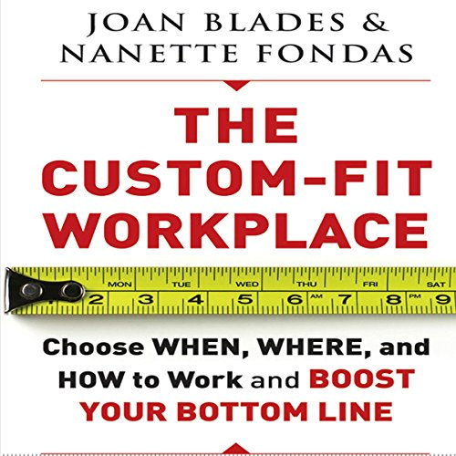 The Custom-Fit Workplace audiobook cover art