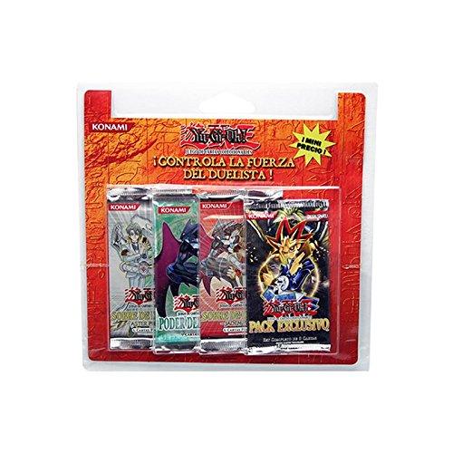 Jeux de Cartes 'Yu-Gi-Oh' - Pack 4 Sobres