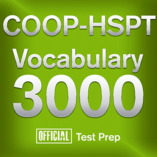 Couverture de Official COOP-HSPT Vocabulary 3000: Become a True Master of COOP-HSPT Vocabulary...Quickly and Effectively!