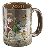 Harley-Davidson Winter 2020 Biker Santa Coffee Mug, 15 oz. - Brown HDX-98632