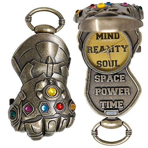 Avengers Endgame Montre de poche Thanos Gauntlet